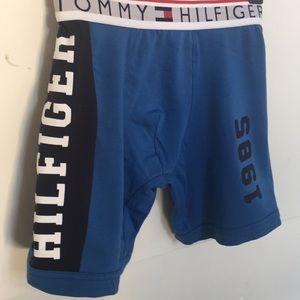 Tommy Hilfiger (M) Boxer Briefs Blue 1985 NWT